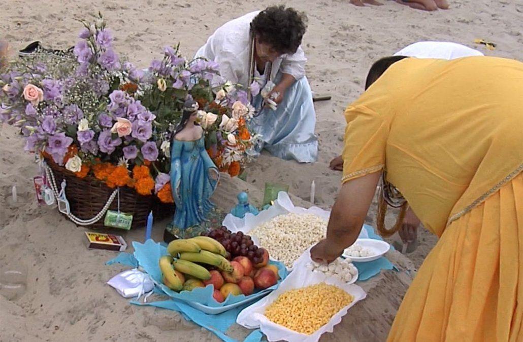 Promueven ofrendas amigables con el medio ambiente para el festejo de Iemanjá