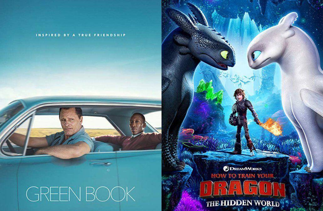 Green Book y Cómo entrenar a tu dragón 3, los estrenos del fin de semana