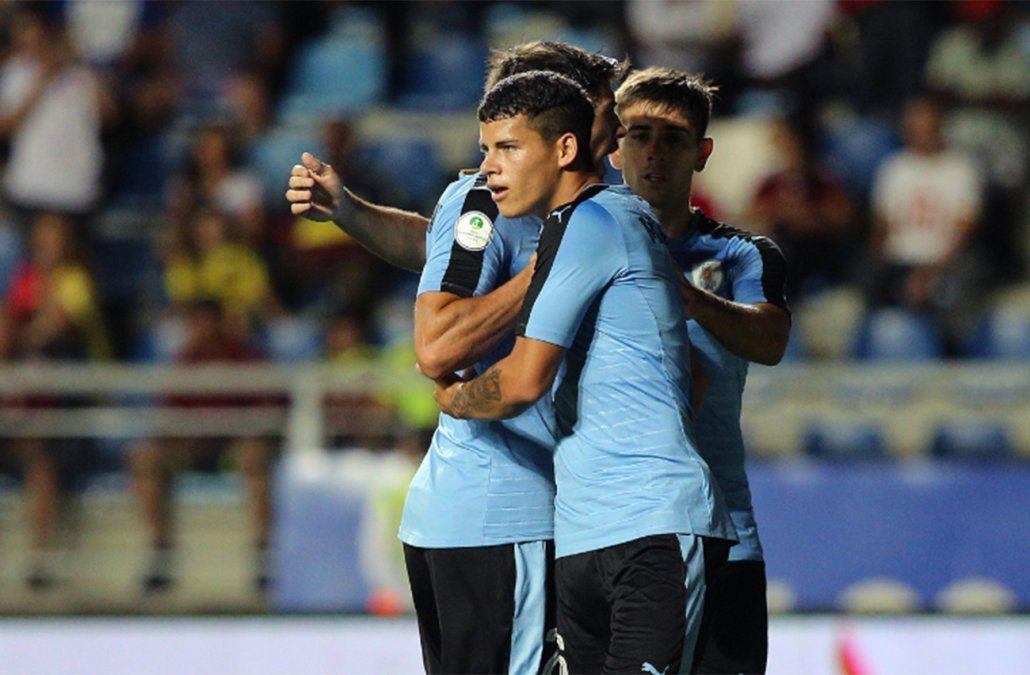 Uruguay ganó 1 - 0 con Ecuador por la segunda fecha de la fase final del Sub 20