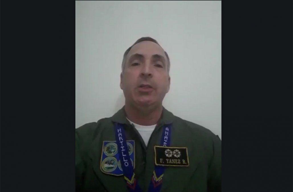 General de aviación venezolana desconoció a Maduro y reconoció a Guaidó