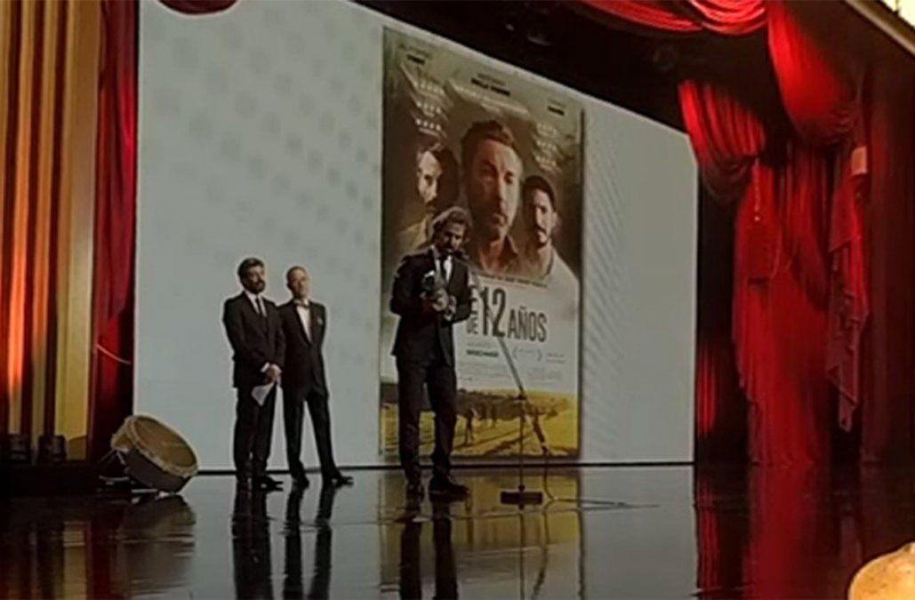 Álvaro Brechner ganó el Goya al mejor guión adaptado por La noche de 12 años