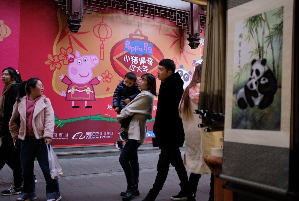 Peppa Pig, de símbolo subversivo a superestrella en el Año del Cerdo en China