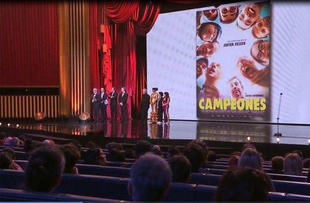 Campeones el film inclusivo que se llevó el premio a mejor película