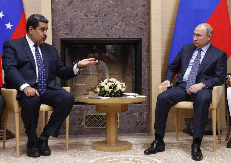 El presidente ruso recibió a Maduro en Moscú a principios de diciembre. de 2018