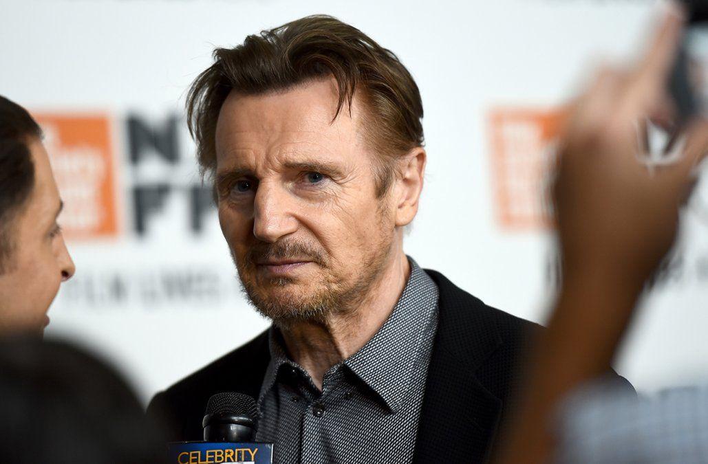 Liam Neeson confesó su vergüenza por haber querido matar un hombre negro por venganza