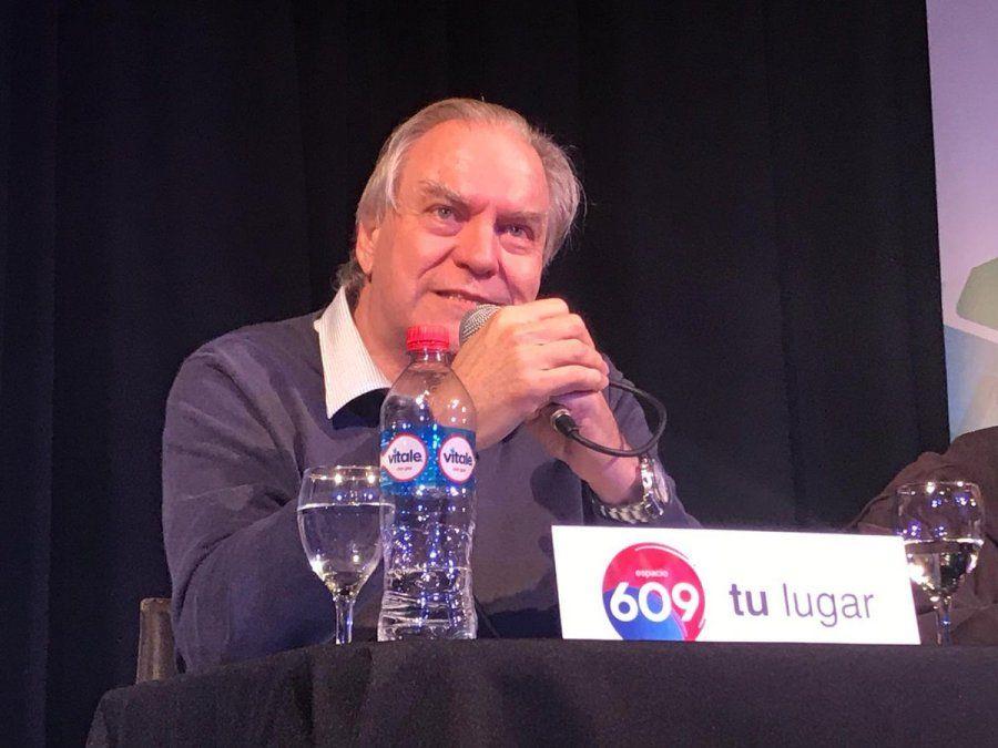 Juan Raúl pasó oficialmente al Espacio 609 en setiembre de 2018