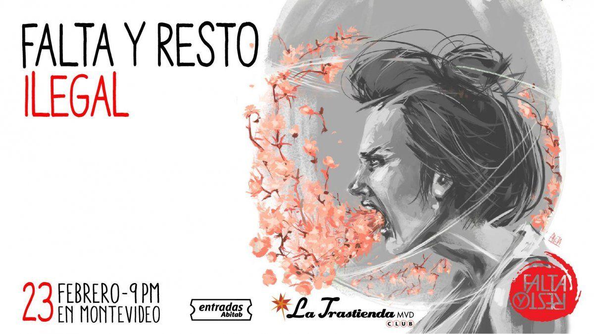Falta y Resto presenta Ilegal en La Trastienda