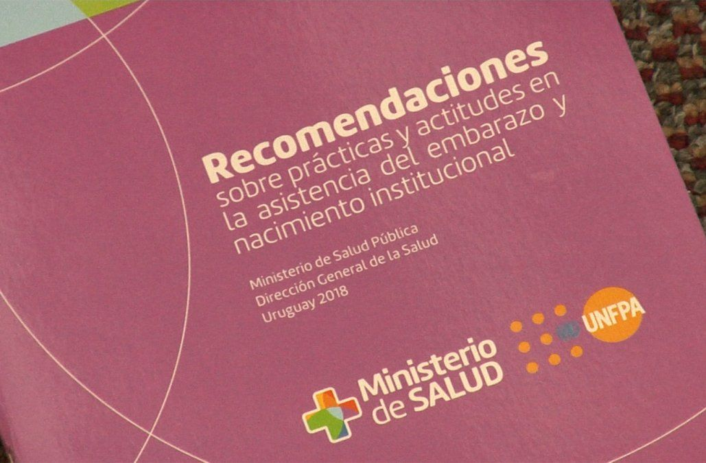 MSP presentó una guía para mejorar la atención durante el embarazo y el parto