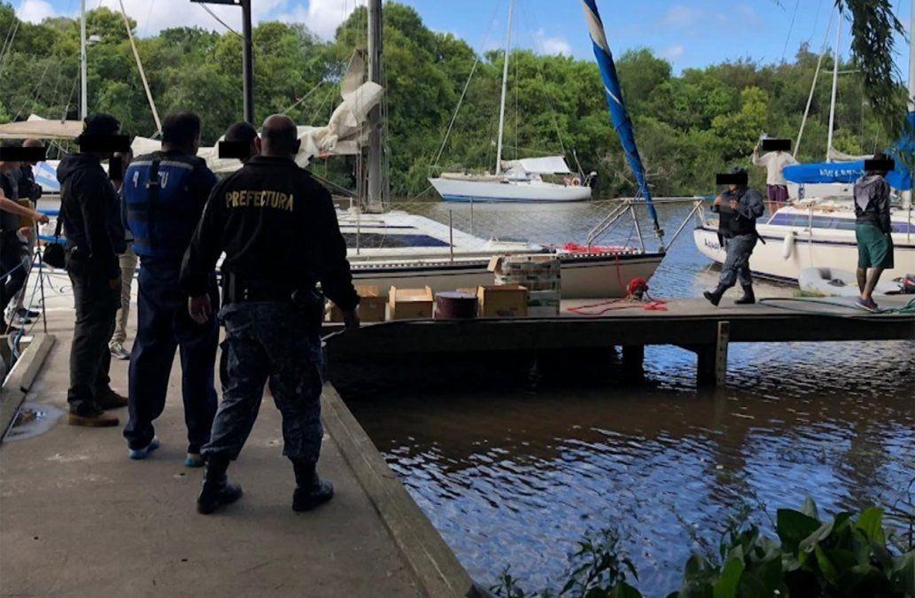 Quedaron libres los detenidos por velero con cargamento para autocultivo de marihuana