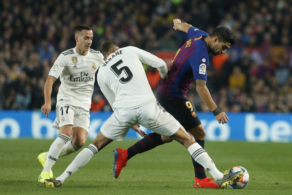 El Real y Barcelona empataron y la semifinal de la Copa del Rey se define en Madrid