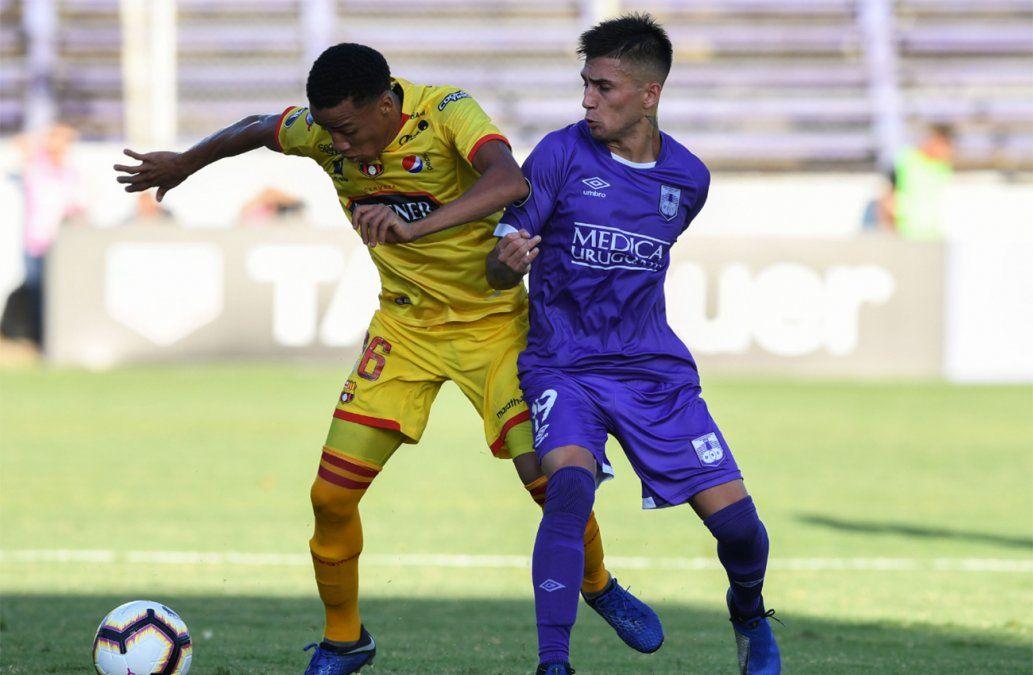 Defensor perdió 1-2 en el Franzini con Barcelona de Ecuador