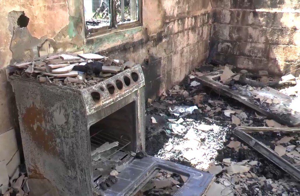 Investigan incendio de dos casas en Valizas, una era de las más antiguas del balneario