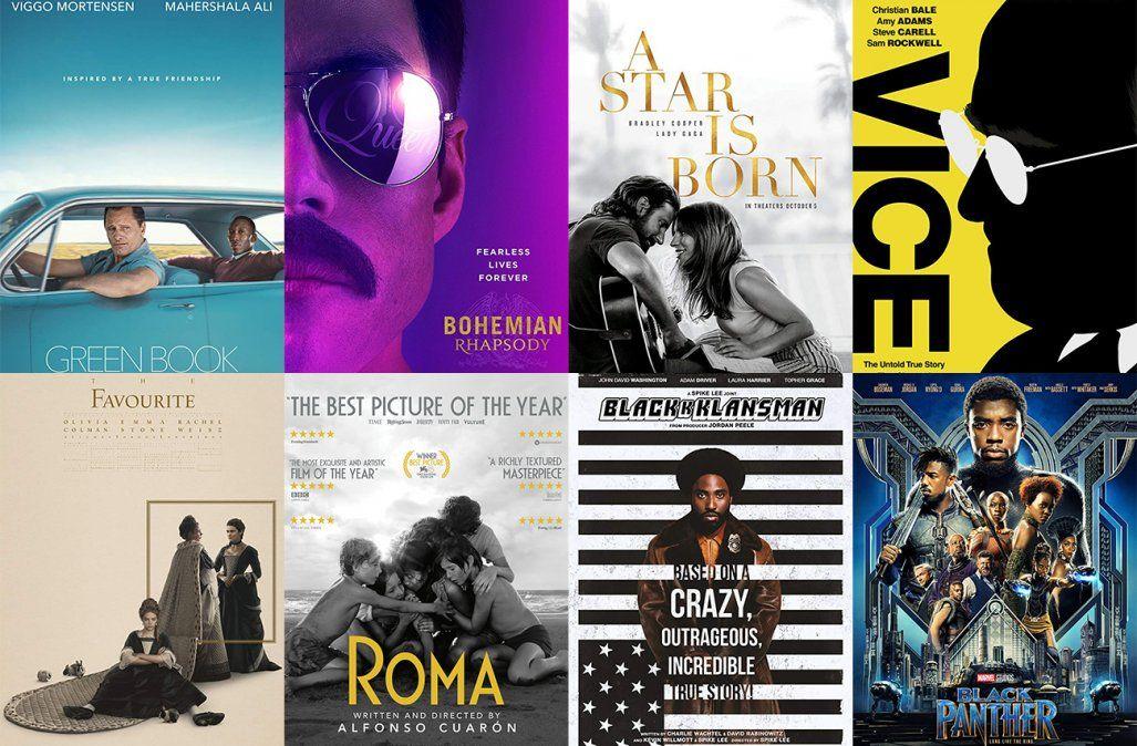 Oscar 2019: Lo que hay que saber de los 8 films nominados a Mejor Película
