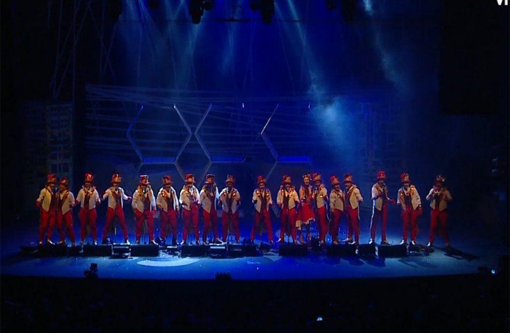 Parodistas Los Muchachos mostraron su lado salvaje en el Teatro de Verano