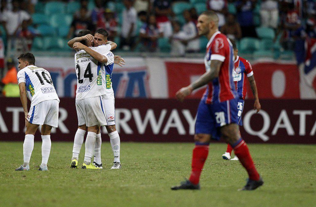 Liverpool sorprendió y derrotó 1-0 a Bahía en Salvador