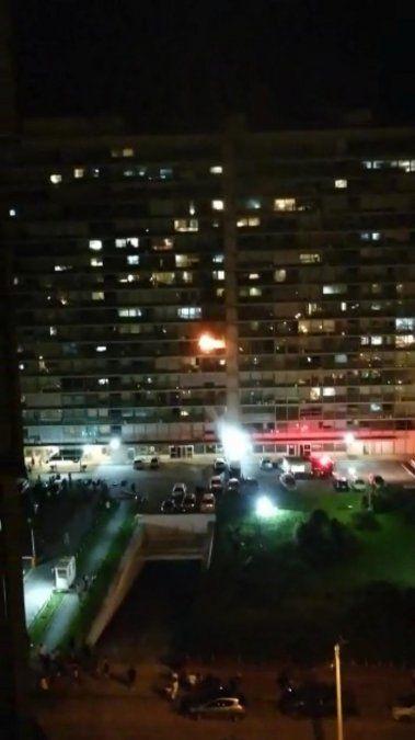 Incendio en el Edificio Panamericano