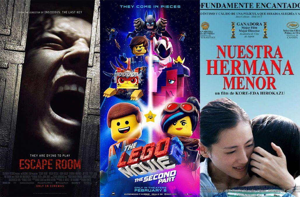 Los estrenos de cine del fin de semana