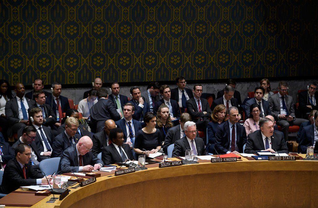 EEUU propone a la ONU proyecto de resolución pidiendo elecciones en Venezuela