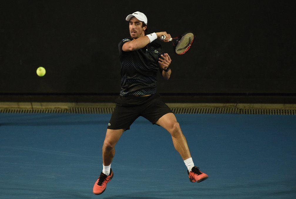 Uruguayo Cuevas derrotó a Bedene y juega por semifinales en ATP de Córdoba