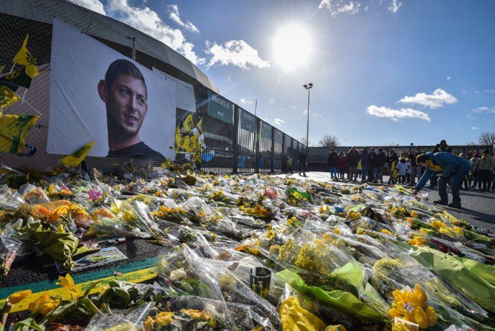 El Nantes rindió un último homenaje a Emiliano Sala