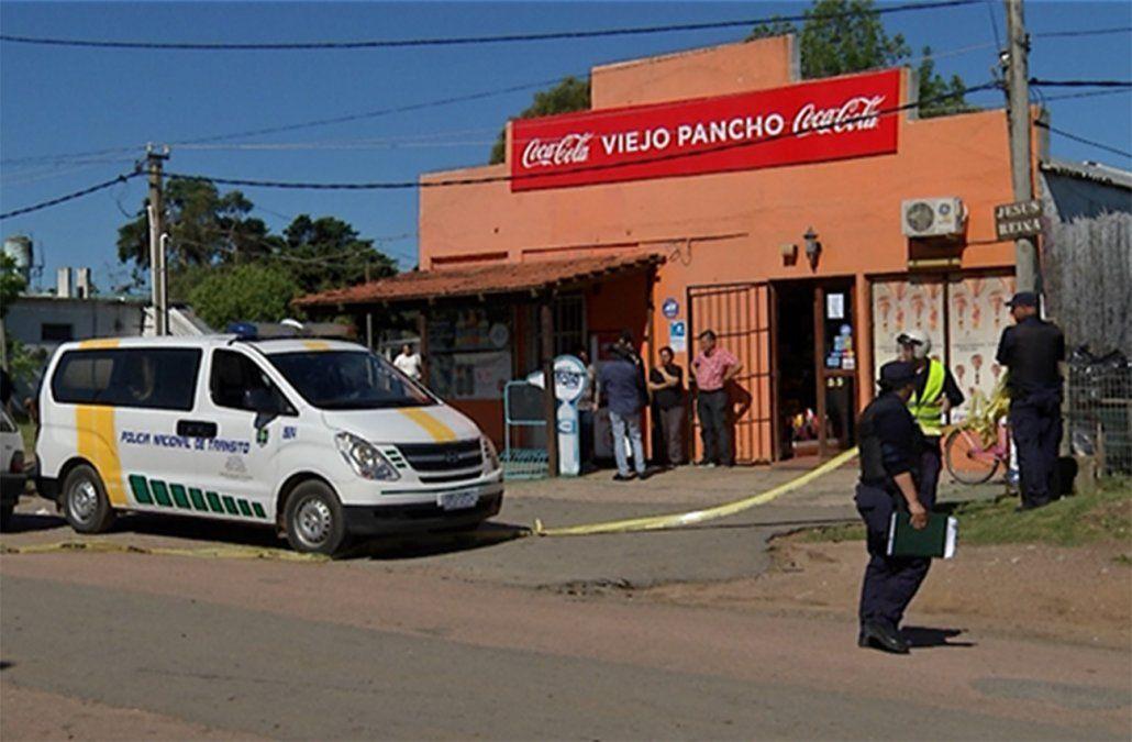 Foto: el comercio de San Luis donde ocurrió el homicidio.