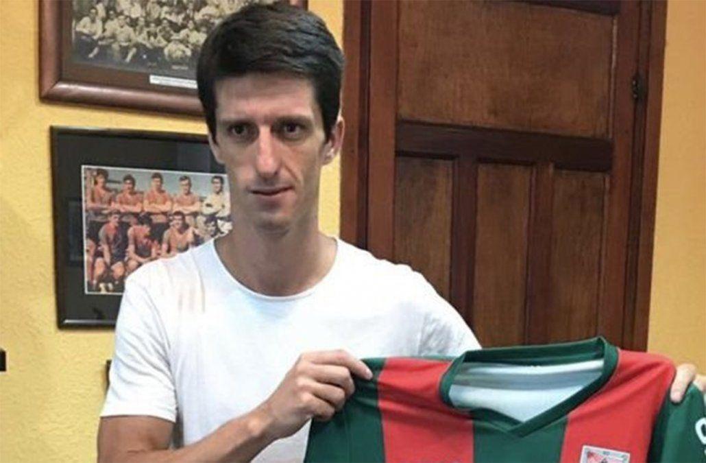 Foto: Álvaro Fernández jugará en Rampla este año.