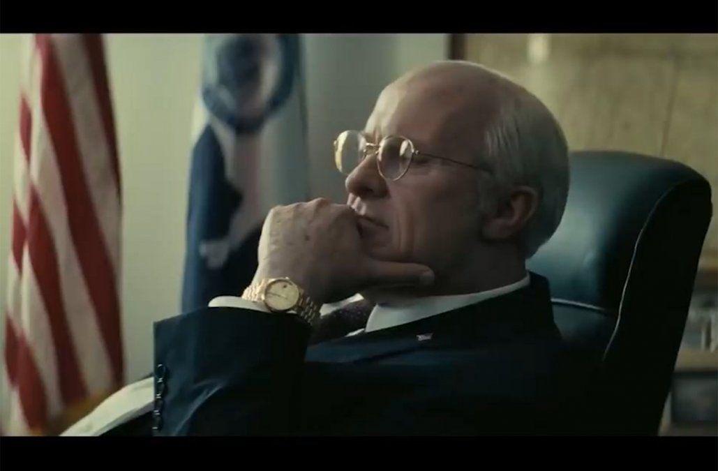 Christian Bale considera que encarnar a Dick Cheney es mejor que a Trump