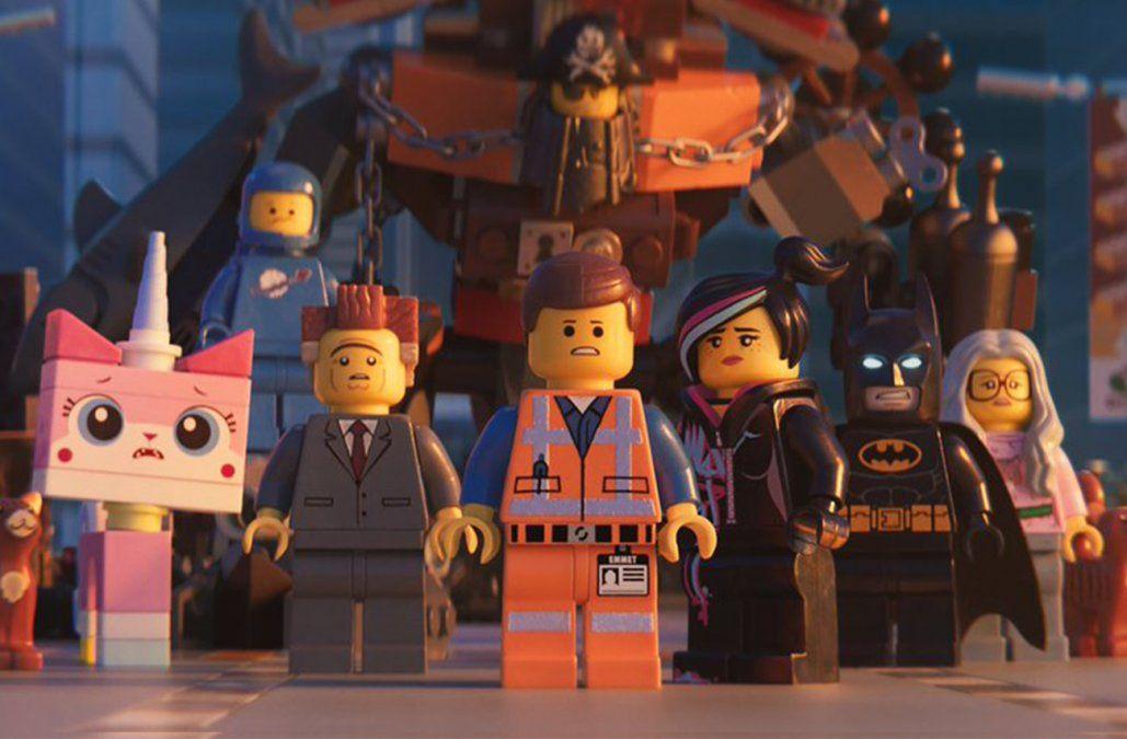 La última película de Lego lidera la taquilla norteamericana