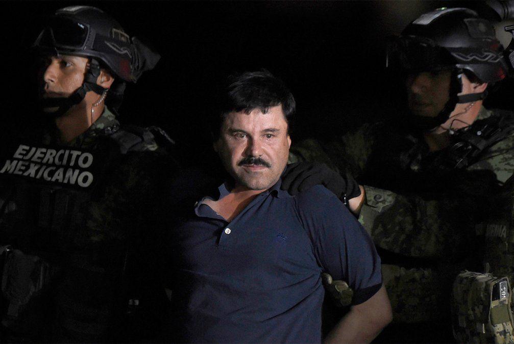 Cadena perpetua para el Chapo Guzmán en Estados Unidos por narcotráfico