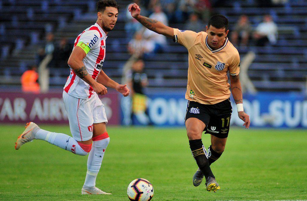 River Plate empató sin goles con Santos en el Franzini