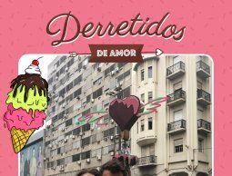 altText(Helados, fotos e ilustraciones: así se festejó San Valentín en 18 de Julio y Yí)}