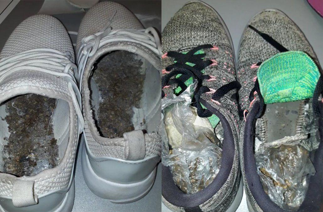 Dos mujeres condenadas por intentar ingresar droga a la cárcel oculta en el calzado