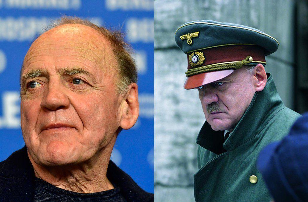 Murió el actor Bruno Ganz, que encarnó a Hitler en La caída