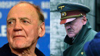 Murió el actor Bruno Ganz, que encarnó a Hitler en