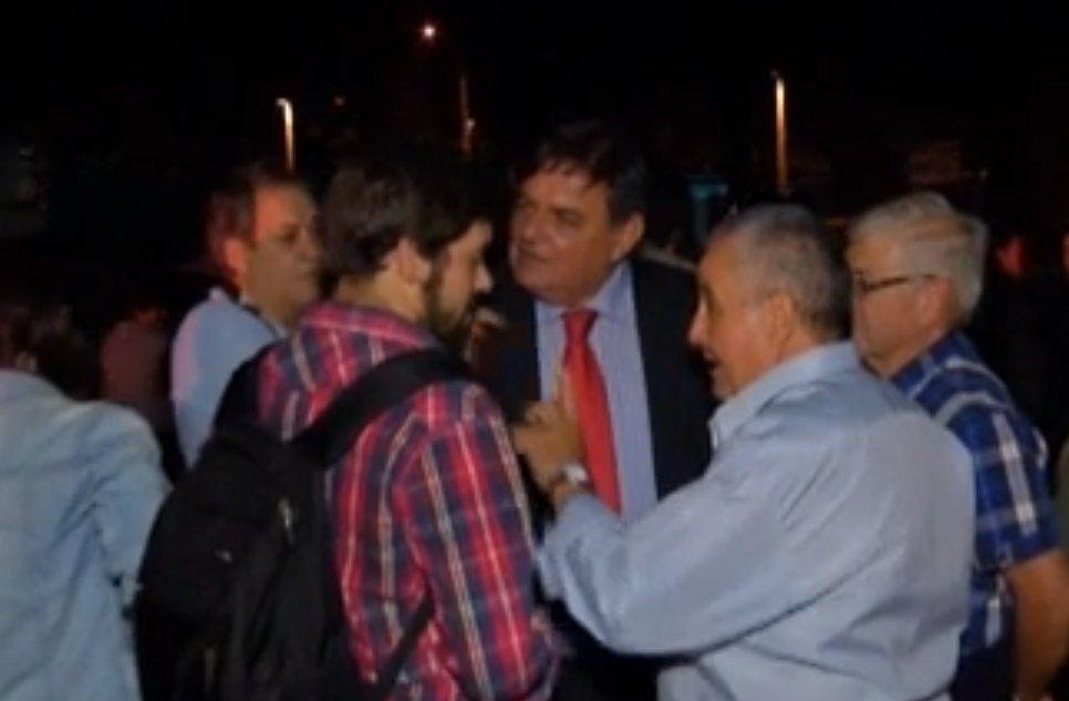 Morgade enojado con el periodista que hizo preguntas incómodas al presidente Vázquez