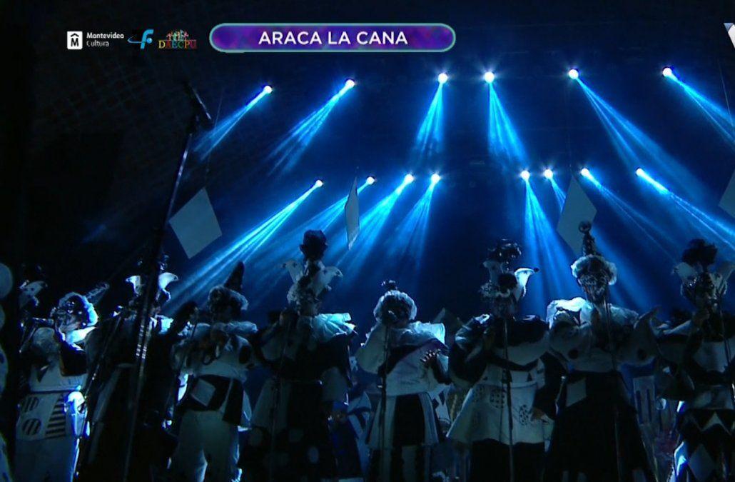 Araca la Cana presentó Marginados nuevamente en el Teatro de Verano