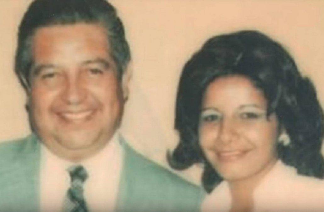 Adriana Rivas y su jefe El Mamo Contreras