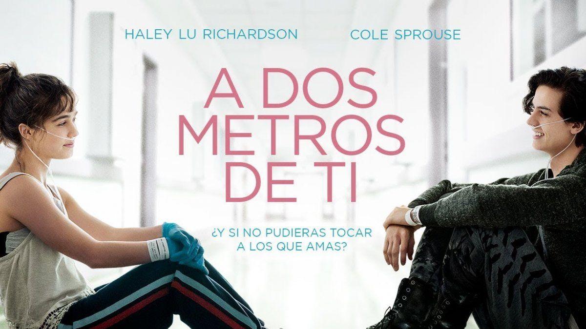 En marzo se estrena la película A dos metros de ti