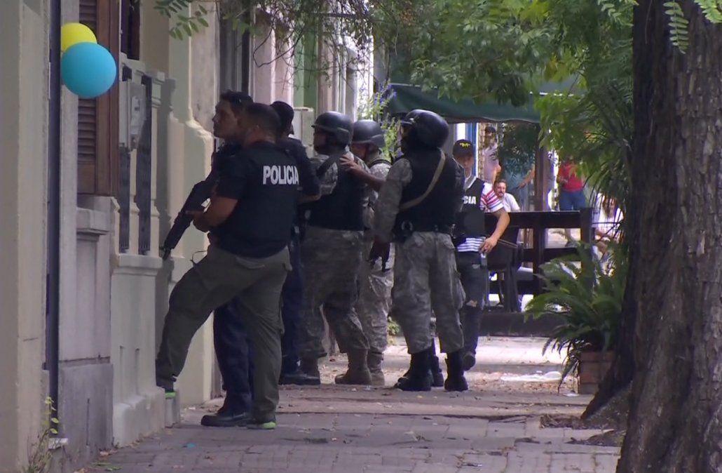 Enviaron a prisión a los delincuentes que se tirotearon con la Policía en La Comercial