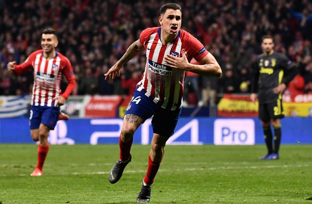 Doblete uruguayo: Josema y Godín le dieron la victoria al Atlético ante la Juve