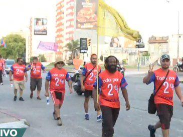 Cooperativistas marchan a pie hacia Punta del Este donde harán una movilización