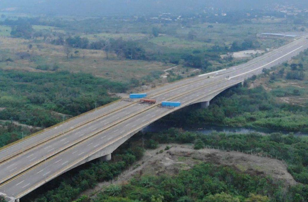Foto: Puente de Tienditas
