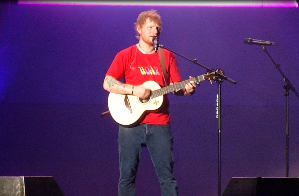 Ed Sheeran conquistó el Centenario a fuerza de carisma y muy buenas canciones
