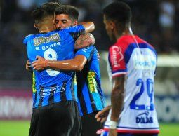 Con dientes apretados Liverpool elimina al brasileño Bahía en Uruguay