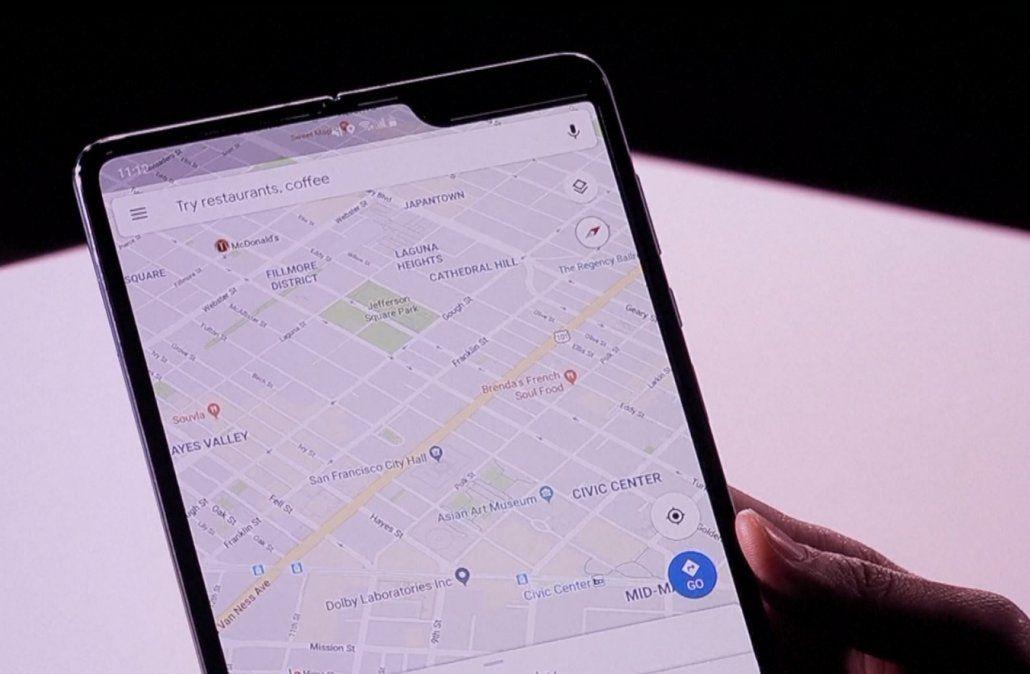 Samsung presentará su nuevo celular inteligente con pantalla plegable