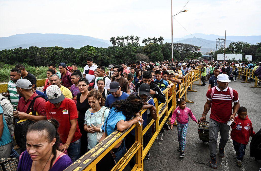 3.4 millones de personas han abandonado Venezuela desde el inicio de la crisis