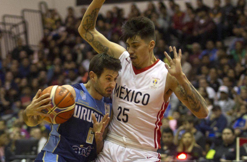 México venció a Uruguay en clasificatorias para Mundial de básquetbol