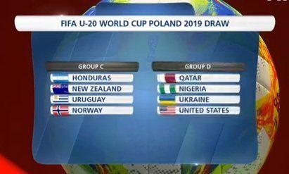 Honduras, Nueva Zelanda y Noruega, los rivales de Uruguay en el Mundial Sub-20 de Polonia