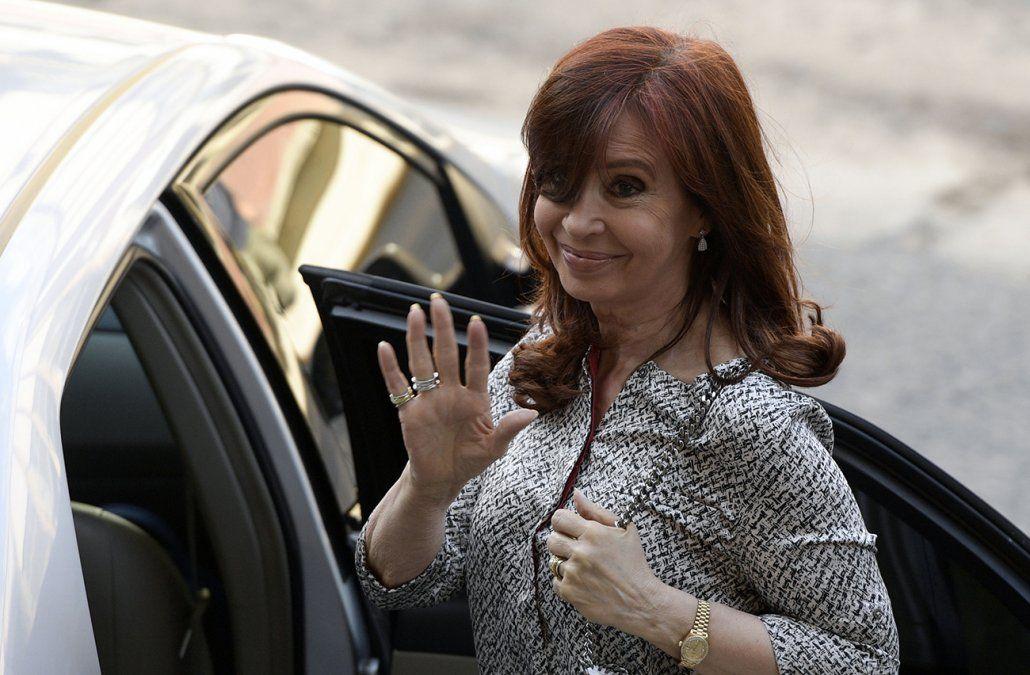 Cristina Fernández volvió a la Justicia por los cuadernos de las coimas