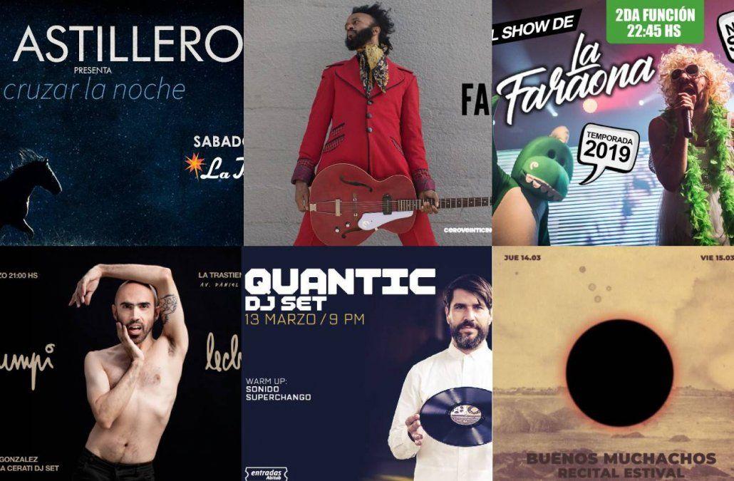 Te mostramos los shows que presenta La Trastienda MVD en marzo